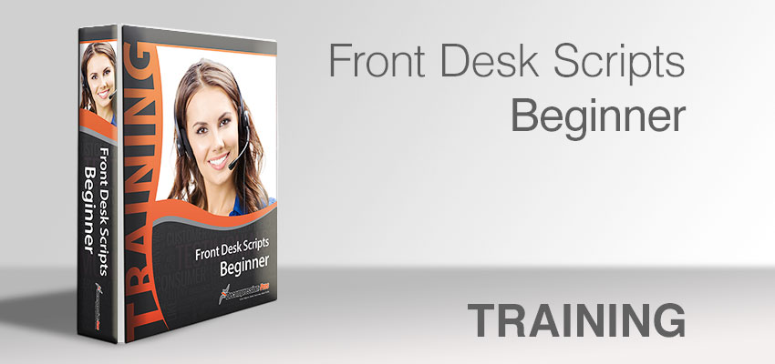 Front Desk Scripts - Beginner
