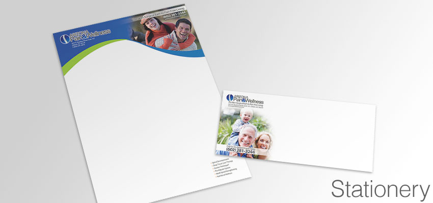 Letterhead and Envelopes
